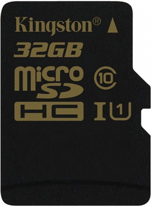 Карта памяти Kingston microSDHC/SDXC 32Gb Class 10 UHS-I + SD adapter - Фото №2