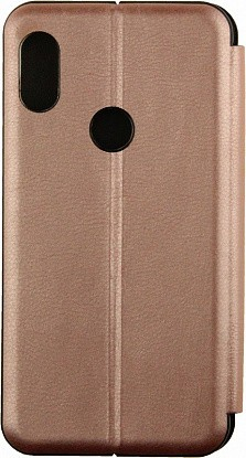 Чехол-книжка TOTO Book Rounded Leather Case Xiaomi Redmi Note 6 Pro Rose Gold - №1