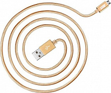 JUST Cooper Micro USB Cable 0,5M Gold