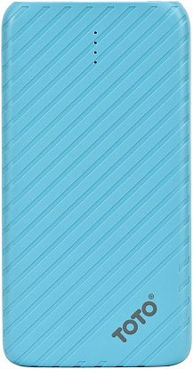 Портативная батарея TOTO TBG-14 Power Bank 4000 mAh 1USB 1A Li-pol Blue - Фото №1
