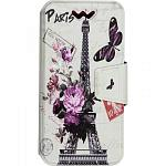 Чехол-книжка TOTO Book Universal cover Picture 5.0'-5.5' Paris