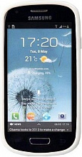 Yoobao 2 in 1 Protect case для Samsung i8190 Galaxy S III Mini White