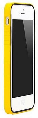 Бампер Colorant B1 для iPhone 5 Yellow/Black - Фото №1