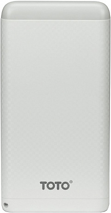 Портативная батарея TOTO TBG-15 Power Bank 8000 mAh 2USB 3,1A Li-pol White - Фото №1