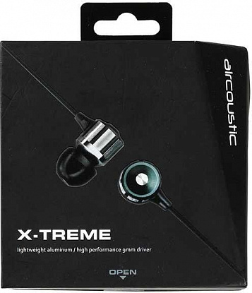 Гарнитура Aircoustic X-TREME Talk Black - Фото №3