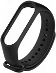 Ремешок UWatch Replacement Silicone Band For Xiaomi Mi Band 3/4 Black