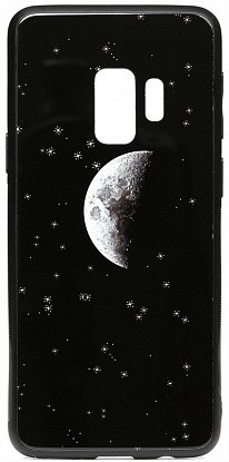 Чехол-накладка TOTO Cartoon Print Glass Case Samsung Galaxy S9 Starry Sky