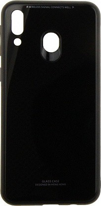 Чехол-накладка TOTO Pure Glass Case Samsung Galaxy M20 Black - Фото №1