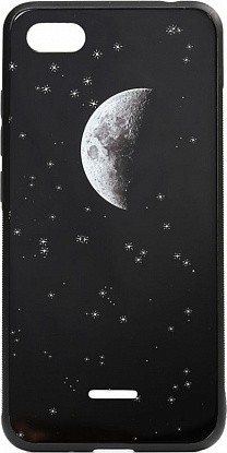 Чехол-накладка TOTO Cartoon Print Glass Case Xiaomi Redmi 6A Starry Sky