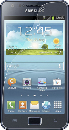 Защитная пленка Umax Samsung Galaxy SII Plus I9105 clear