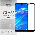 Защитное стекло TOTO 5D Full Cover Tempered Glass Huawei Y7 2019 Black