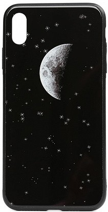Чехол-накладка TOTO Cartoon Print Glass Case Apple iPhone XS Max Starry Sky