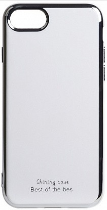 Чехол-накладка TOTO Electroplate TPU 2mm Case Apple iPhone 7/8/SE 2020 White