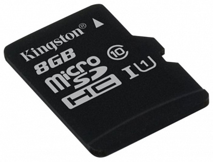 Карта памяти Kingston microSDHC/microSDXC 8Gb Class 10 UHS-I - Фото №2