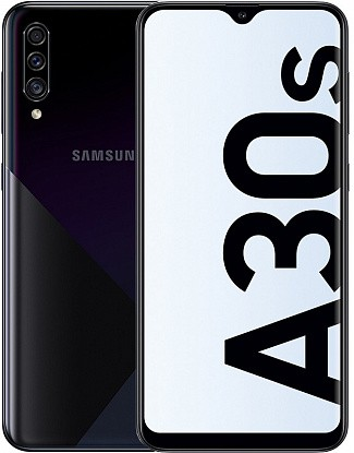 Смартфон Samsung Galaxy A30s A307F 3/32GB Prism Crush Black - №1