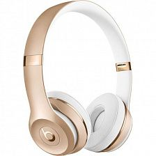 Наушники Beats by Dr. Dre Solo 3 Wireless Gold (MNER2) - фото