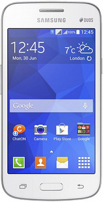 Смартфон Samsung Galaxy Star Advance G350E White - Фото №1