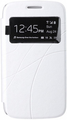 Чехол-книжка Oscar III Book Cover Touch Series для Samsung i8262/i8260 White