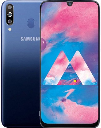 Смартфон Samsung Galaxy M30 SM-M305F 4/64GB Gradation Blue - Фото №1