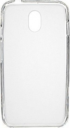 Чехол-накладка Drobak Elastic PU для HTC Desire 210 Dual Sim White\Clear - Фото №1