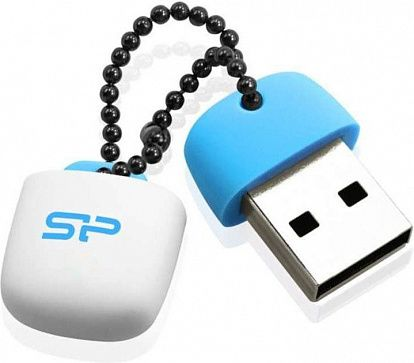 USB Flash Silicon Power Touch T07 64Gb Blue