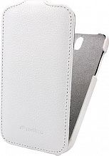 Melkco Jacka leather case для HTC One SV/One ST white