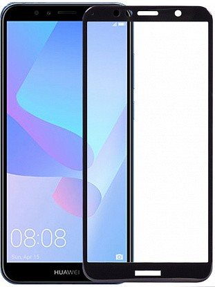 Защитное стекло TOTO 5D Cold Carving Tempered Glass Huawei Y6 Prime 2018 Black фото