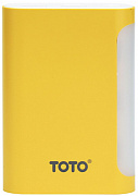 Портативная батарея TOTO TBG-48 Power Bank 7500 mAh 2USB 3,1A Li-Ion Yellow - Фото №1