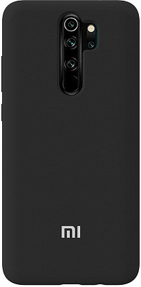 Чехол-накладка TOTO Silicone Full Protection Case Xiaomi Redmi Note 8 Pro Black фото