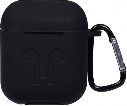 Чехол TOTO 1st Generation Thick Cover Case AirPods Black - №1