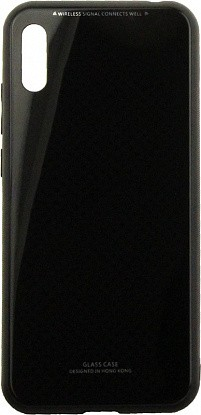 Чехол-накладка TOTO Pure Glass Case Huawei Y6 2019 Black - Фото №1