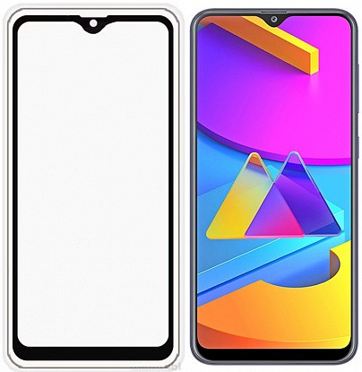 Защитное стекло TOTO 5D Full Cover Tempered Glass Samsung Galaxy M10s Black фото
