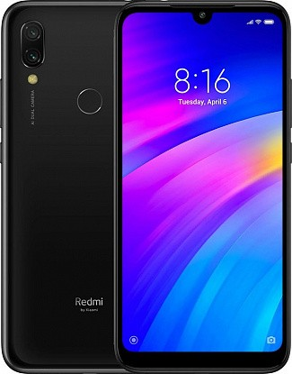 Смартфон Xiaomi Redmi 7 2/16GB Black (Global) - Фото №1