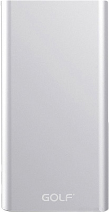 Портативная батарея GOLF Power Bank 15000 mAh Edge 15 Li-pol Silver