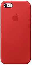 Apple Leather Case iPhone 5/5s/SE Red