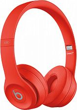 Наушники Beats by Dr. Dre Solo 3 Wireless Citrus Red (MP162) - фото
