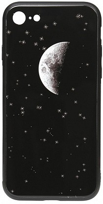 Чехол-накладка TOTO Cartoon Print Glass Case Apple iPhone 7/8 Starry Sky
