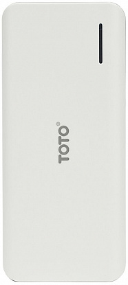 Портативная батарея TOTO TBG-46 Power Bank 12500 mAh 2USB 3,1A Li-Ion White - Фото №1