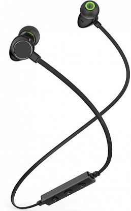 Наушники AWEI WT30 Bluetooth Earphones Black - Фото №1
