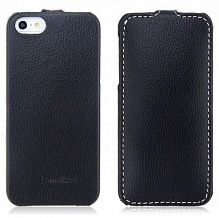 Melkco Leather Flip iPhone 5/5S Black