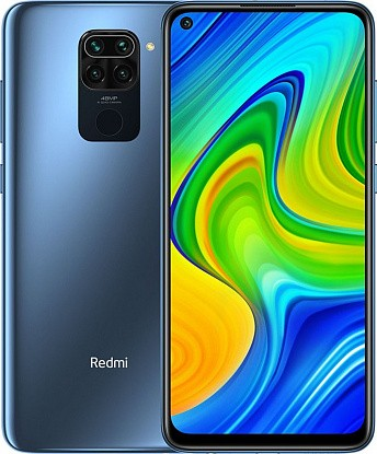 Смартфон Xiaomi Redmi Note 9 4/128GB NFC Midnight Grey (Global) - №1