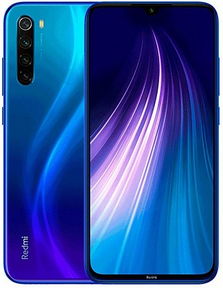Смартфон Xiaomi Redmi Note 8 4/64GB Neptune Blue (Global) - Фото №1
