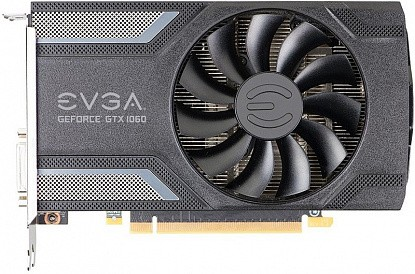 Видеокарта EVGA GeForce GTX 1060 SC GAMING 3G (03G-P4-6162-KR) - Фото №1