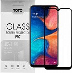 Защитное стекло TOTO 5D Full Cover Tempered Glass Samsung Galaxy A20/A30/A30s/A50/A50s Black