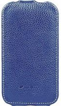 Melkco Leather Case Jacka Desire SV T326e Blue