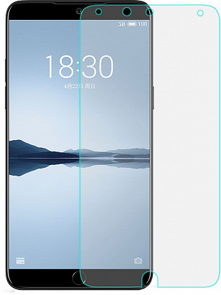 Защитное стекло TOTO Hardness Tempered Glass 0.33mm 2.5D 9H Meizu 15 Lite фото