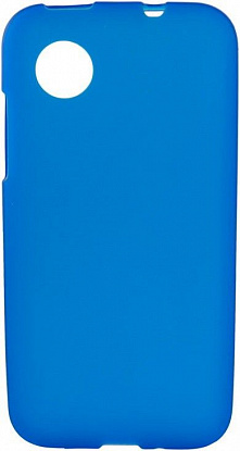 Чехол-накладка Mobiking Silicon Case для LG L70/D325/L65/D285 Blue