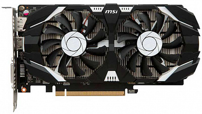 Видеокарта MSI GeForce GTX 1050 Ti OC 4GT - Фото №1