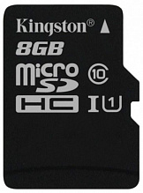 Kingston microSDHC/microSDXC 8Gb Class 10 UHS-I