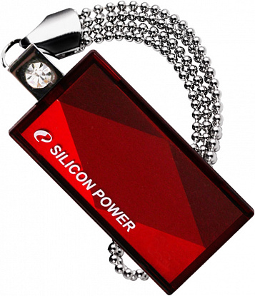 USB Flash Silicon Power Touch 810 16Gb Red